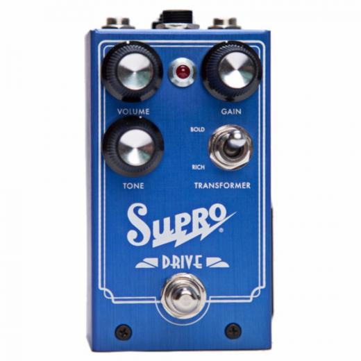 Pedal Overdrive con True Bypass Switching y y entrada TRS para Pedal de Expresion