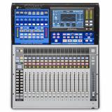 Mezclador digital de 16 canales con 16 preamps de micrófono, 17 Faders motorizados, Interfaz de audio USB 38x38, Interfaz Ethernet de 55x55 AVB