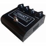 Controles: Drive, Tone, Mode 1 2, Master, Tubo 12AU7, Impedancia de entrada: 1M ohms