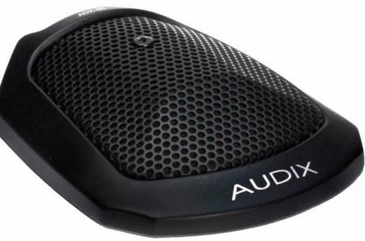 Micrófono condensador cardioide de alta sensibilidad para teleconferencias, ceremonias, teatro, piano, ambiente room, etc. 130dB SPL, 50Hz - 18kHz, hecho en USA.
