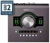 Interfaz de audio 10-in / 6-out Thunderbolt 2 con acelerador DSP, 1 procesador SHARC, 2 preamplificadores Unison