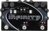 Pedal de Looper de doble estéreo con limitador analógico, salida AUX, sincronización MIDI con muestra y modos de bucle múltiple