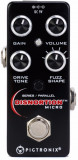 Micro distorsion Fuzz con 6 etapas de overdrive