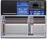 Mezclador digital de 24 canales con 24 preamps de micrófono, 33 Faders motorizados, Interfaz de audio USB 38x38, Interfaz Ethernet de 55x55 AVB
