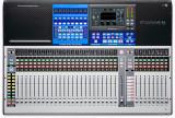 Mezclador digital de 32 canales con 32 preamps de micrófono, 33 Faders motorizados, Interfaz de audio USB 38x38, Interfaz Ethernet de 55x55 AVB
