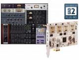 Tarjeta aceleradora DSP QUAD PCIe de 4 núcleos, 3 plugins adicionales a tu elección + bundle de plugins UAD con paquete Analog Classics - Mac/PC AAX 64, VST, AU, RTAS.