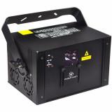 laser equipado con 2 ventiladores de alta velocidad, para expulsar el calor, Motor Micro-step, 200mW Rojo, 200mW Verde, 1600mW Azul, DMX512