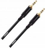 Cable Mini Plug 3.5 mm TRS, Balanceado, Conectores Rean by Neutrik, soldado a mano, contactos chapados en oro