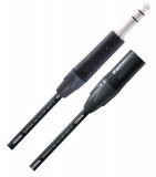 Cable XLR Macho - Plug 1/4 TRS, Conectores Neutrik, Soldado a mano, serie Proline