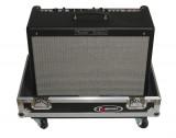 """Case Transporte para Amplificador Combo de guitarra de 1x12, interior en espuma, ruedas de 3"""", manijas y pestillos de seguridad"""