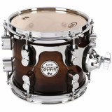 "Tom en Maple, 8 x 7"", Terminacion Charcoal Burst over Walnut, serie Concept"