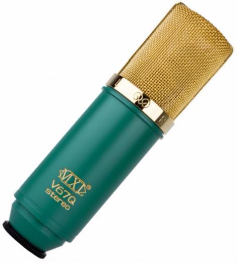 Micrófono condensador estéreo con gradiente de presión, Diseño estéreo XY de doble cápsula, Impedancia de salida: 100 ohms por lado