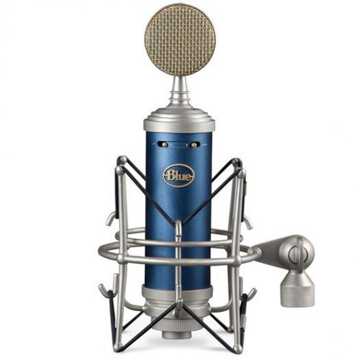 Micrófono condensador cardioide de diafragma grande para voces e instrumentos, con pad de -20dB, filtro pasa altos y case de madera. 138dB SPL.