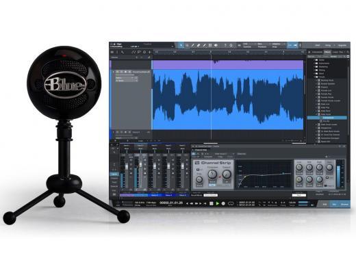 Micrófono condensador cardioide/omni USB multi-propósito para Mac y PC, ideal para voces, con software DAW PreSonus Studio One Artist. 40Hz - 18kHz, 16-bit/44.1kHz.