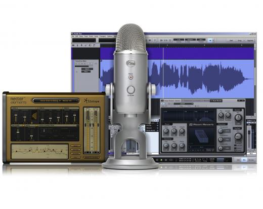 Micrófono condensador USB para Mac y PC, 4 patrones polares (Mono/Estéreo), con software DAW PreSonus Studio One Artist e iZotope Nectar Elements. 20Hz - 22kHz, 16-bit/48kHz.