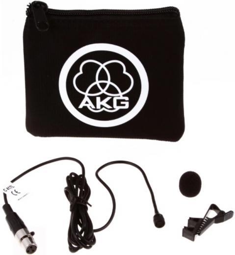 Micrófono lavalier omnidireccional con conexión mini-XLR