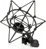 Suspension para microfono u87, elimina vibraciones y protege la cápsula del micrófono, sistema montaje con tornillo.