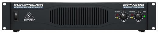 Amplificador de potencia de 2 canales, 2000 watts /  2 ohms, con tecnología de respuesta transitoria acelerada, limitadores conmutables