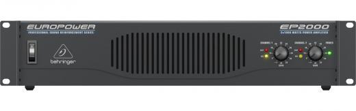 Amplificador de potencia de 2 canales, 1000W peak / canal a 2 ohms, con tecnología de respuesta transitoria acelerada, limitadores conmutables, filtros de baja frecuencia