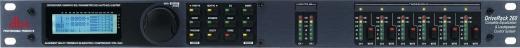 2 entradas y 6 salidas configurables, ecualización de entrada y opciones de divisor de frecuencias (crossover)