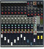 8 entradas mono, 2 entradas estéreo y efectos léxicon incorporados de 24 bits