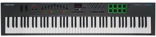 Controlador teclado USB-MIDI de 88 teclas con configuraciones preprogramadas de DAW para Bitwig Studio, Cubase, Digital Performer, Garageband, Logic Pro, Nuendo, Reason, SONAR, Studio One, FL Studio y Reaper