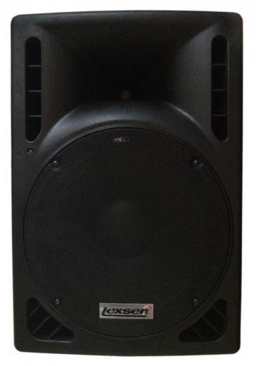 Ideal para aplicaciones de refuerzo sonoro o retornos de media potencia, respuesta de frequencia: 45Hz - 20kHz (+/- 2dB)