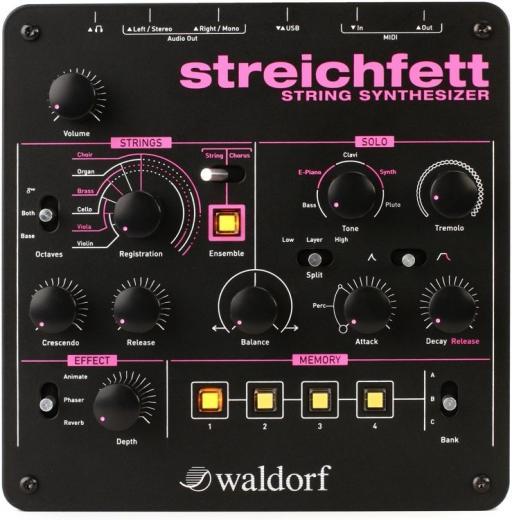 Módulo string sintétizador polifónica con 2 motores de sonido y efectos a bordo