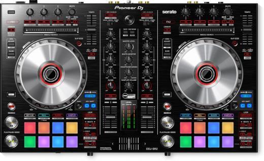 Controlador de DJ digital compatible con DVS, con mezclador de 2 canales, interfaz de audio USB de 4 canales, Serato DJ y Serato Pitch 'n Time DJ