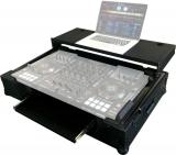 """Case Rigido para controlador Denon MCX8000 con rack 2U de 19"""", panel frontal removible de corte en V"""