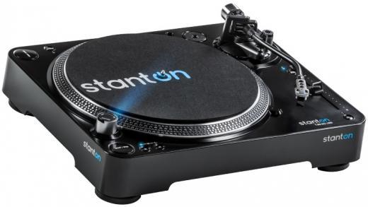 Tocadiscos profesional de calidad con motor de transmisión directa, Salidas USB y S / PDIF para transferir fácilmente música desde discos de vinilo a su Mac o PC