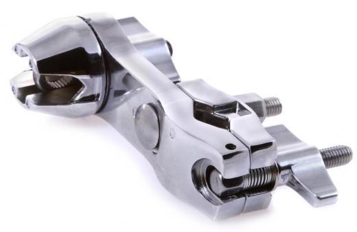 Mega clamp en V con adaptador a 10.5mm