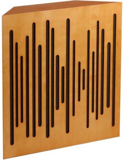 Recomendable para salas más pequeñas con problemas de baja frecuencia, se puede usar en diferentes posiciones de esquina y su estructura modular permite añadir más unidades
