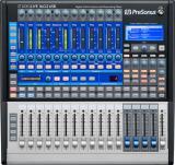 Mezclador digital de 16 canales con 12 preamplificadores XMAX, QMix, efectos DSP incorporados, interfaz de audio USB 2.0 y paquete de software