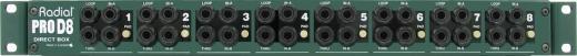 8 canales, pasiva, transformador de aislamiento personalizado elimina el ruido, manejo de señal excepcional sin saturación