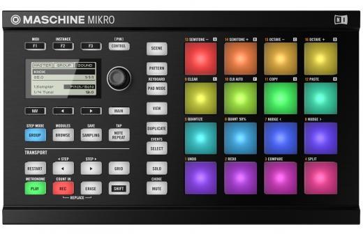 Sistema de software y superficie de control de hardware Groove Production completo con 8 GB de contenido y Bundle de Software Komplete 11 - Mac / PC independiente, AAX Native, VST, AU