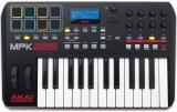 Teclado controlador MIDI USB / iOS con teclado de 25 notas Semi-ponderado con Aftertouch, 8 pads de rendimiento, 8 codificadores, 4 botones, arpegiador, controles de transporte y licencia Reason Lite