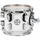 "Tom en Maple, 8 x 7"", 5-piezas, Terminacion Pearlescent White, STM (Suspensión Tom Mounts) , serie Concept"