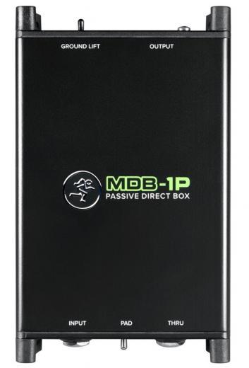 """Ideal para aplicacion de sonido directo y estudio, entrada de alta impedancia 1/4"""", -15dB Pad, salida XLR"""