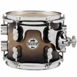 "Tom en Maple, 8 x 7"", 5-piezas, Terminacion Satin Charcoal Burst, STM (Suspensión Tom Mounts) , serie Concept"