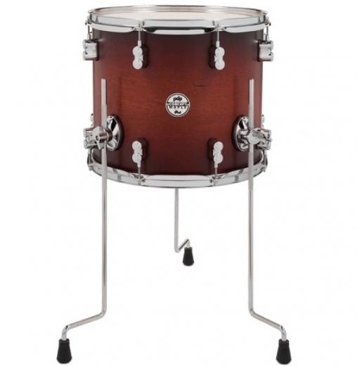 "Tom en Maple, 14 x 12"", Terminacion Satin Tobacco Burst ( Premium Lacquer Finishes ), serie Concept"