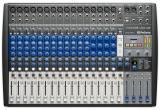 Mezclador analógico / digital de 22 canales con 16 preamps de micrófono, interfaz de audio de 22 entradas / 4 salidas, 24 bits / 96 kHz, grabadora digital SD de 2 entradas y 2 salidas integrada, transmisión por Bluetooth y Stereo Digital FX