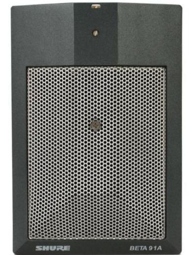 Micrófono de condensador con interruptor de contorno para bombo e instrumentos de baja frecuencia