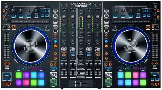 Controlador digital de DJ de 4 canales e interfaz de audio con controles integrales que incluyen Flip, Pitch'n Time y Video Expansions; Incluye el software Serato DJ Pro