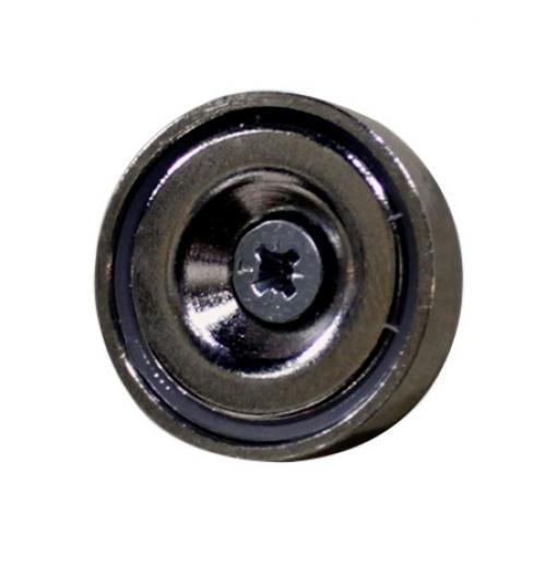 Set de 6 unidades de Soporte Magnetico, fijación magnética de peso ligero desarrollada para colgar 1 panel acústico en la pared