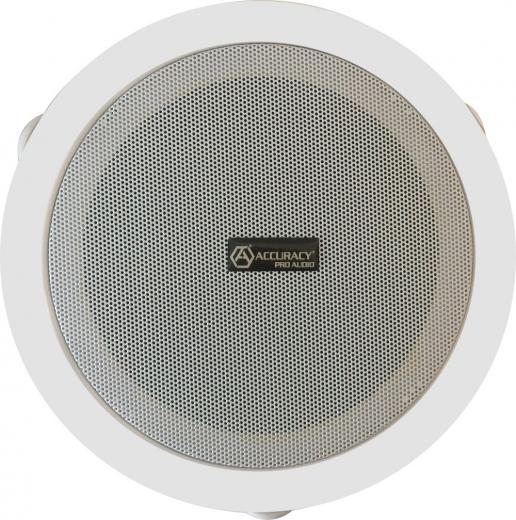 Parlante cielo para montaje en techo, se puede utilizar en una amplia variedad de techos. Proporciona una reproducción excelente de voz y música en aplicaciones para interiores.