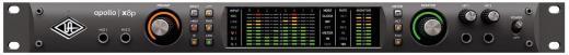 Interfaz de audio Thunderbolt 3, 18 entradas / 22 salidas, 24 bits / 192 kHz con procesador central HEXA de 6 núcleos, conversión AD / DA de clase Elite, 8 preamps unison