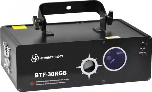 Laser RGB 4 X 1, Multiefecto con 2 aberturas, laser Rojo 150mW, laser Verde 60mW, laser Azul 60mW