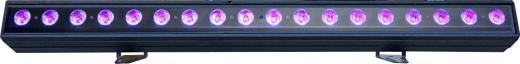 Barra de luz UV, LED alto brillo 18x10W, Canales DMX: 4/8 Canales, lente personalizada, Clasificacion IP65