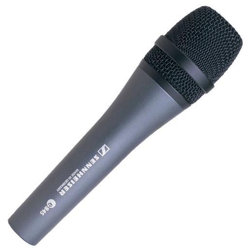 Micrófono vocal de mano dinámico supercardioide con excelente rechazo de realimentación, manejo de SPL de más de 150dB